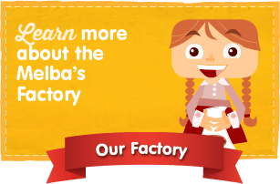 Learn more about the Melba's Factory