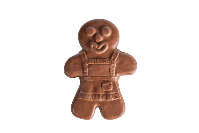 Milk Chocolate Gingerbread Man